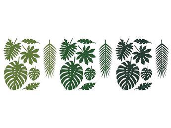 Imagens de Decorados hojas tropicales (21)