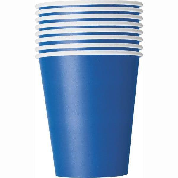 Picture of Vasos azul Royal de cartón (8)