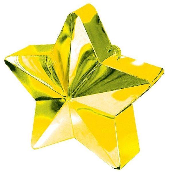 Imagen de Peso para Globos Estrella Dorada