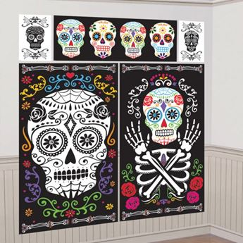 Imagens de Decorados pared Día de los Muertos (5)