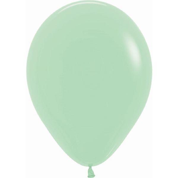 Imagens de Globos Verde Menta Fashion Sólido 30cm R12-026-12 (12)