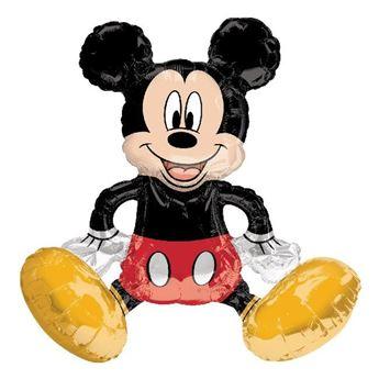 Imagen de Globo Mickey Mouse Sentado mediano de 45cm