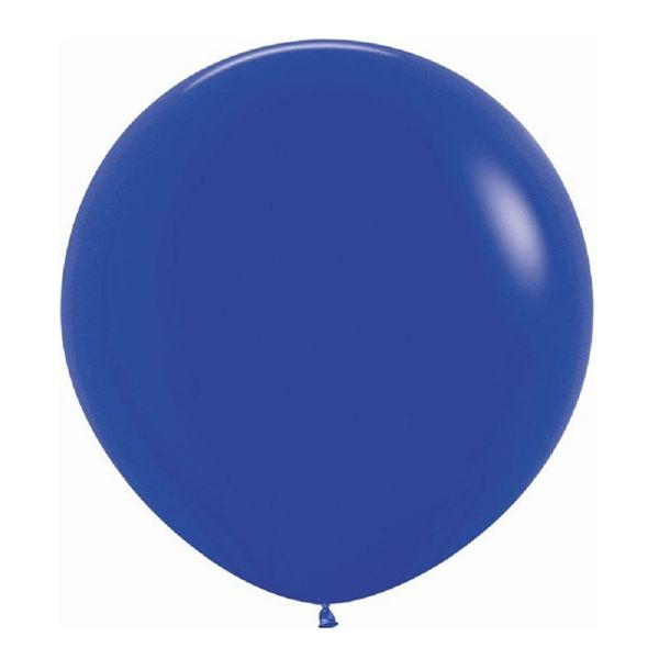 Picture of Globos Azul Real Fashion Sólido 92cm R36-041 (10)