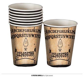 Imagen de Vasos Ouija Halloween (6)