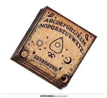 Imagen de Servilletas Ouija Halloween (12)