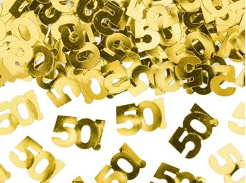 Imagens de Confeti 50 dorado (15g)
