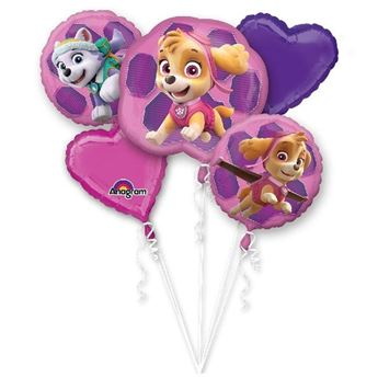 Picture of Bouquet Globos Patrulla Skye y Everest (5)