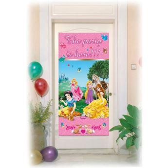 Picture of Decorado puerta princesas Disney fiesta