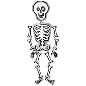 Imagen de Globo andante esqueleto 193cm